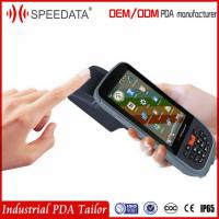 China 3G WIFI GPRS Chip Card Handheld Rfid Reader Writer With USB Fingerprint Scanner on sale