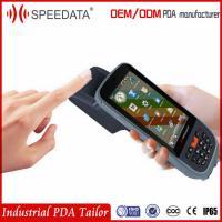 3G WIFI GPRS Chip Card Handheld Rfid Reader Writer With USB Fingerprint Scanner