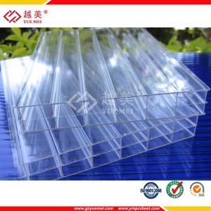 China hoja del policarbonato de la pared del doble del claro del precio de la hoja del policarbonato de la pared del triple del policarbonato de 6m m buena on sale