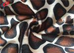 Warp Knitted Animal Print Velboa Polyester Velvet Fabric For Sofa Cover