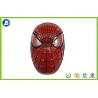 PVC Hard Plastic Party Mask With Pantone For Mardi Gras , Embossing Print