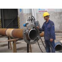 Hydraulic Split Frame Pipe Cutting And Beveling Machine Chamfering Machine Longer Life