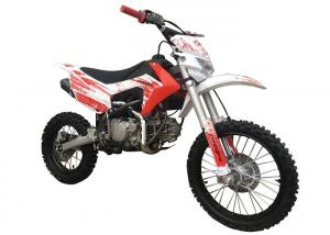 China 50cc / 70cc Mini Gas Powered Dirt Bikes , Red White Color Gas Pit Bike on sale