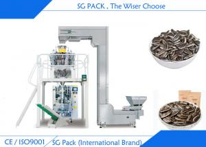 China Sunflower Seeds Automatic Packing Machine Back Seal Bag SS304 Food Level Steel Packing on sale