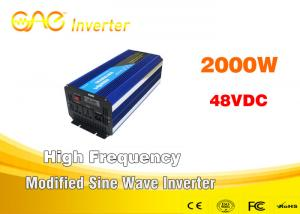 China Automatic Shutdown Modified Sine Wave Inverter Dc 48 Ac 110V 220V 230v Power Battery Inverter on sale