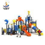 High quality children outdoor playground plastic combined slides