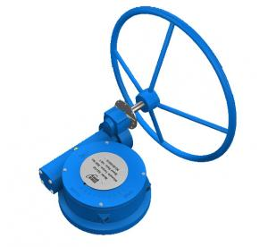 China High Performance Compact Ball Valve Gear Operator  Butterfly Valve Gearbox on sale