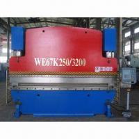 CNC Hydraulic Press Brake/Plate Bending Machine with 18.5kW Motor Power