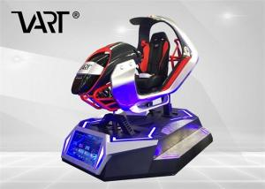 China Amazing Game Machine XD VR Racing car  , VR Car Simulator VR Dynamic Driving Car on sale