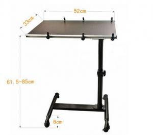 ... Quality Swivel Black Foldable Notebook Adjustable Laptop Table On Sofa  Portable DX BJ10A For Sale ...