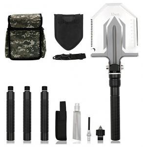 China Foldable Military Tactical Shovel , Military Surplus Folding Shovel Outdoor Emergency Tool Kit on sale