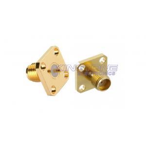China Style hommes-femmes de cuir embouti de cloison étanche de connecteurs coaxiaux de l'or SMA avec la prise inverse de polarité on sale
