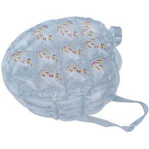 China fashionable transparent tote bag, pvc handbag on sale