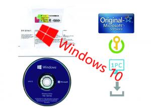 Quality Windows 10 Pro COA sticker / OEM / Retail Box with Original Key 1703 System for sale