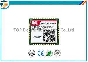 China Quadruplez le module de GSM GPRS de bande avec les protections de LCC et de LGA, SIM800C-DS Dual Sim on sale