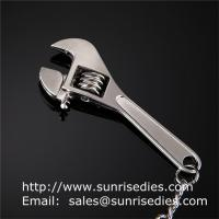 Metal tool wrench holder key tags, in stock metal spanner tool pendant keychains