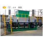 Double shaft used waste car metal shredder machine manufacturer with CE