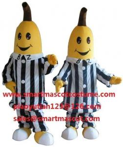 China bananas in pyjamas mascot costumes on sale