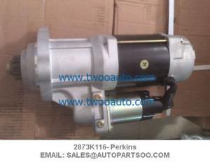 China 2873K116 S512784 - Perkins Starter Motor 2873K116, 24V, CW, 38MT on sale