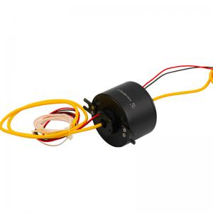China Precious Metal Slip Ring Solutions Electrical And Fiber Optic Rotary Joint on sale