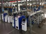 Guardrail Automatic Robot Production Line with Weight Customized Speed 5~50mm/s