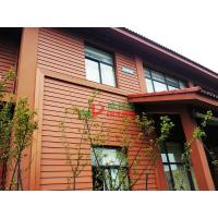 China Waterproof Outdoor WPC Exterior Wall Cladding No Pollution Little Maintenance on sale