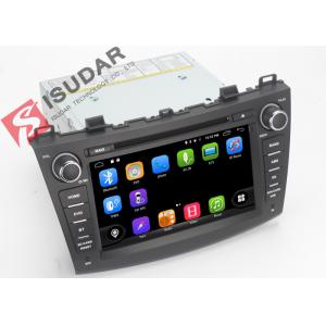 China 1080P Mazda3 Dvd Player , Android Touch Screen Car Stereo Head Unit With OBD TMPS on sale