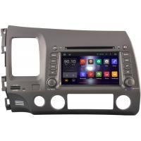 Left Side Honda Civic DVD Player With GPS Navigation 2006 - 2011 Steering Wheel Control