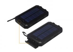 China 10000mah Portable Solar Power Bank 139x78x29mm Dimension Stylish Design on sale