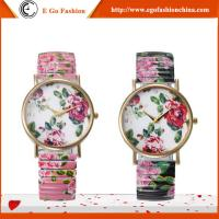 GV03 Rose Flower Band Alloy Watch Top Quality Branding Watches GENEVA Woman Watch Dress