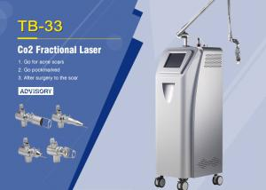China Medical 10600nm Co2 Fractional Laser Machine For Skin Resurfacing / Scars Removal on sale