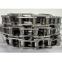Stainless Steel Conveyor Chain Links , Sprocket Saws Precision Roller Chain