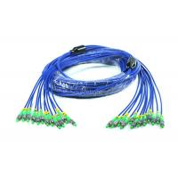 Customized Armored Fiber Optic Patch Cord FC / SC / ST / LC Connector