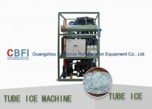 China 1 - 30 Ton Daily Capacity Tube Ice Machine For Bar , Restaurant , Hotel on sale