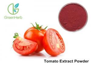 China Natural Antioxidant Tomato Fruit Extract Powder Lycopersicon Esculentum Mill on sale