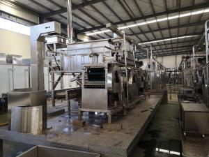 China Stainless Steel Peanut Frying Machine Production Line For Broad Bean Easy Operation on sale