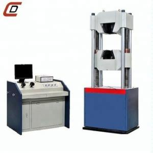 China 1000kn Hydraulic Universal Testing Machine +Steel bar Tensile Strength Testing Machine +Laboratory Equipment on sale