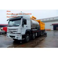 China XQZ5316TFC Turck chassis Road Maintenance Machinery Fiber Asphalt And Synchronous Fiber Chip Sealer ZZ3317N4667D1 on sale