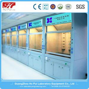 China Steel Lab Fume Hood Chemical Resistant 800x2350 For School Science on sale