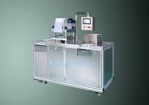 China Semi auto Powder Press For Cosmetics Filling Machine Eye Shadow , Blush on sale