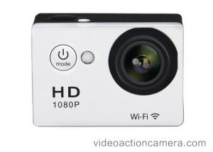 China High Definition Wifi Sports Action Camera With Remote Control Loop Recording on sale
