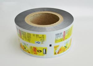 China Customize printing Multilayer PET/VMPET/PE Packaging Plastic Film Roll for snacks food on sale