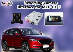 China Mazda Multimedia Reverse Camera Interface With Rear System , 800*480 Resolution on sale