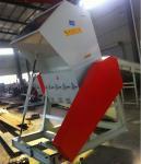 Alta trituradora automática media de la chatarra de Efficet con capacidad grande