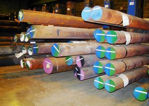 China Forged Alloy Steel Bar / Rod ASTM 4340 130 - 1600mm Below 16 Meters on sale