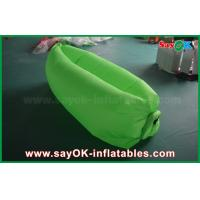Green 1.4kg Weight Sleeping Air Bag Lazy Couch Bed For Relaxing