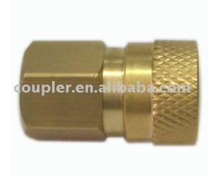 "China Pressure Washer brass Hydraulic quick coupler 1/8"" Female on sale"