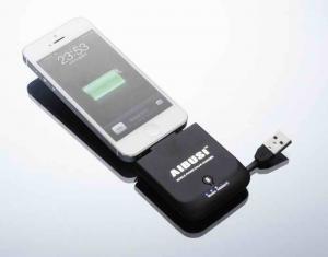 China 1500mah Lithium-ion Mini Solar Power Bank For Blackberry , Samsung Galaxy on sale
