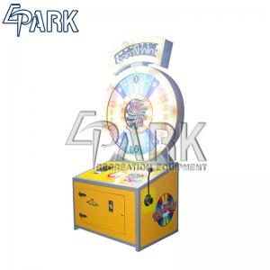 China Spin N Win lottery redemption equipment ticket vending machine on sale