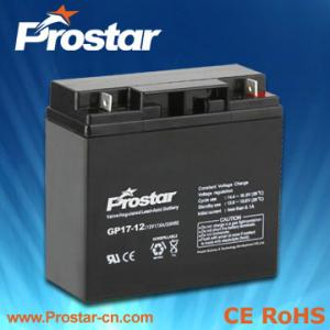 China Bateria 12v 17ah de Prostar AGM on sale